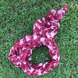 Roll Tide Alabama scarf (no logos anywhere)